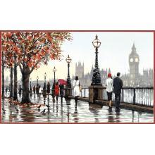 Картина - Разходка по Темза, Dimensions PN-0191603, 51 х 30 см