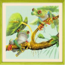 Гоблен Риолис РТ-0083 Frogs