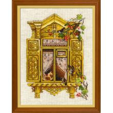 Гоблен Риолис 1731 Window with Sparrows