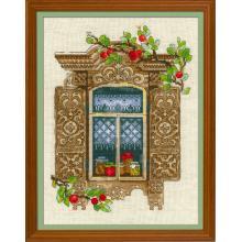 Гоблен Риолис 1732 Window with Apples