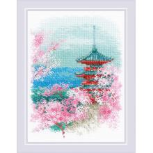 Гоблен Риолис 1743 Sakura. Pagoda