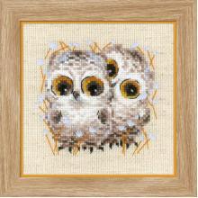 Гоблен Риолис 1755 Little Owls