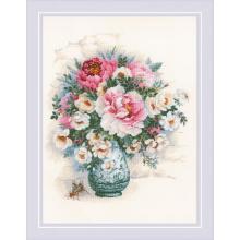 Гоблен Риолис 1816 Макове и диви рози, Peonies and Wild Roses