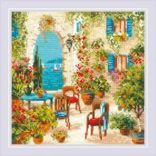 Гоблен Риолис 1863 Южен двор, Southern Courtyard
