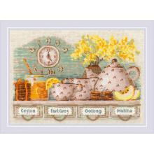 Гоблен Риолис 1873 Време е за чай, Tea Time