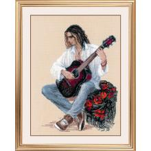 Гоблен Риолис 1766 Guitarist