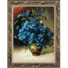 Гоблен Риолис 1772 Cornflowers after I. Levitan's paintings