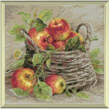 Диамантен гоблен Риолис АМ0015 Кошница с ябълки
