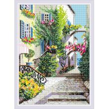 Диамантен гоблен Риолис АМ0025 Улица в Италия