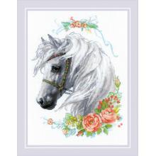 Гоблен Риолис 1804 White Mane (Белогривата кобила)