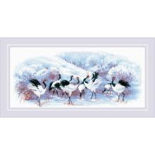 Гоблен Риолис 1806 Japanese Cranes (Японски жерави)