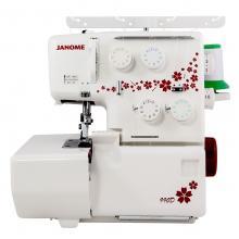 Оверлог JANOME 990D - 4 конечен с диференциален транспорт