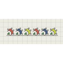 Шевица Бордюр 1 - Файл за машинна бродерия
