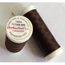 Макара Tytan 60E - 120 m, тъмно кафява