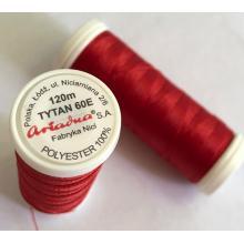 Макара Tytan 60E - 120 м, 2522, червена