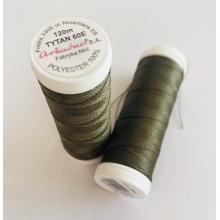 Макара TYTAN 60E - 120 m, 2582, маслено зелено