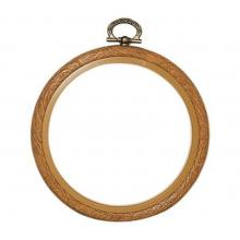 Рамка, имитация дърво, ∅ 20 см, Vervaco PN-0009437, 1272/20