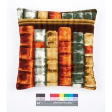 Възглавница Фервако PN-0150893 Cross Stitch Cushion Books