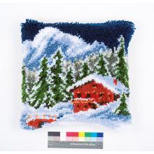 Възглавница Фервако PN-0153601 Latch hook Cushion Winter Mountains