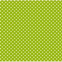 Плат Baltimore 1014 - Мини точки на зелен фон, 50 х 50 см