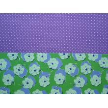 Колекция Duo - Флорал - Зелено и лилаво (Floral Green & Purple)