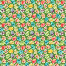 Плат Иберия - Великден (зелен фон), 50 х 50 см
