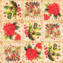 Плат Иберия - Коледни звезди, 50 х 48 см
