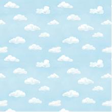 Плат Иберия - Синьо небе, 50 х 50 см