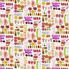 Плат Иберия - Магазин за бонбони, 50 х 50 см