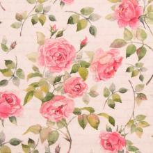 Плат Иберия - Английски рози, 50 х 50 см