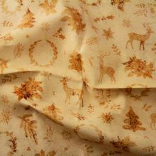 Плат Иберия - Златна Коледа, 50 х 50 см