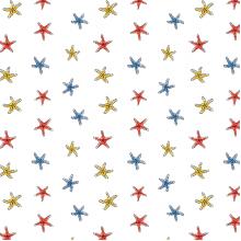 Плат Иберия - Морски звезди, 50 х 50 см