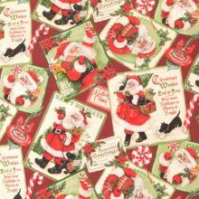Плат Иберия - Дядо Коледа, 50 х 50 см