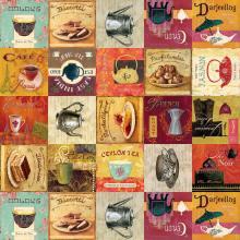 Плат Иберия - Чай & Кафе, 24 х 150 см