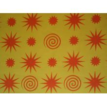 Плат Дания - Градината на Джейн - жълто - 55 х 45 см