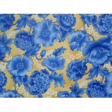 Плат Дания - Кралско синьо - Божури, 55 х 45 см