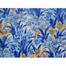 Плат Дания - Кралско синьо - Ириси, 55 х 45 см