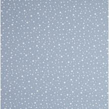 Плат Poplin - Пастелни неравномерни точки, млечно сиво, 50 х 46 см
