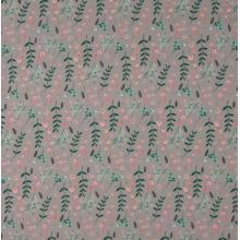 Плат Poplin - Разпръснат букет - 50 X 46 см