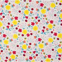 Плат Poplin - Пролетта се събуди, 50 х 46 см