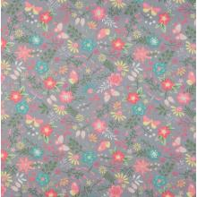Плат Poplin Коралова пролет - 50х46 см