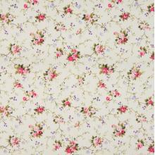 Плат Poplin - Романтика Рози с клонки, 50 х 46 см