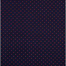 Плат Poplin - Загадка, тъмносин фон, 50 х 46 см