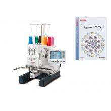 Бродировъчен автомат Janome MB-4S + Софтуер за създаване на дизайни Digitizer MBX
