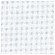 Панама бяла 40 x 50 см - 14 ct.