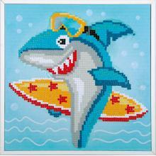 Диамантен гоблен Фервако PN-0183266 Сърфираща акула
